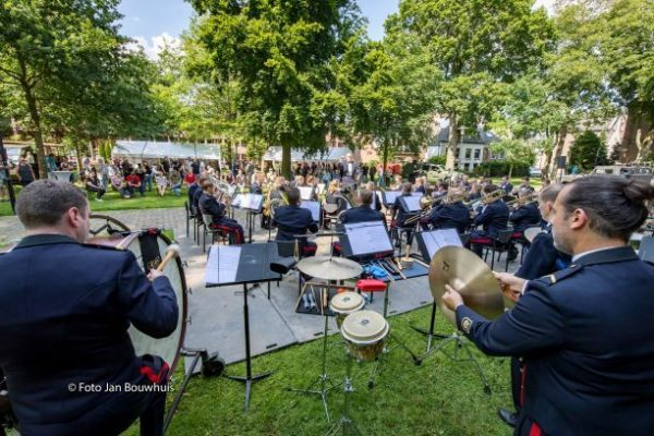Fanfare korps nationale reserve in Tiel